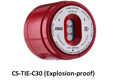 Explosion-proof fire detector CS-TIE-C30 ChangSung