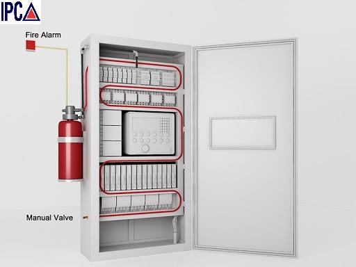 Bình chữa cháy tự động dành cho tủ điện