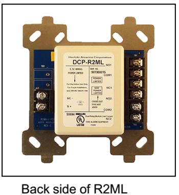 DCP-R2ML Module địa chỉ điều khiển 2 đầu ra Hochiki