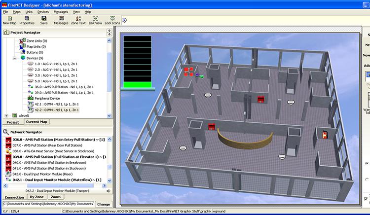 Phần mềm đồ hoạ báo cháy Hochiki FireNET Graphix GUS Mỹ
