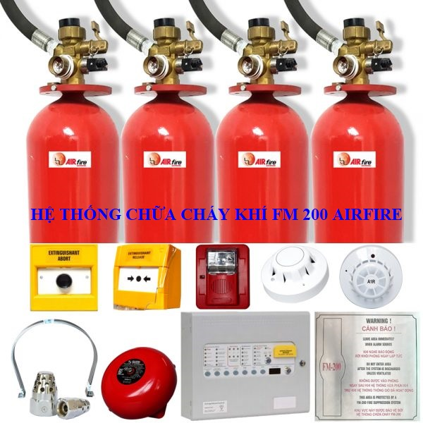 Hệ thống chữa cháy khí FM-200 AirFire