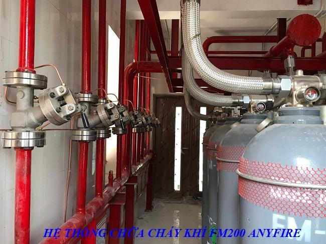 Hệ thống chữa cháy khí FM200 ANYFIRE