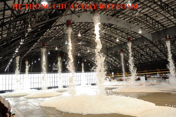 Hệ thống chữa cháy bằng bọt Foam Nhập Khẩu