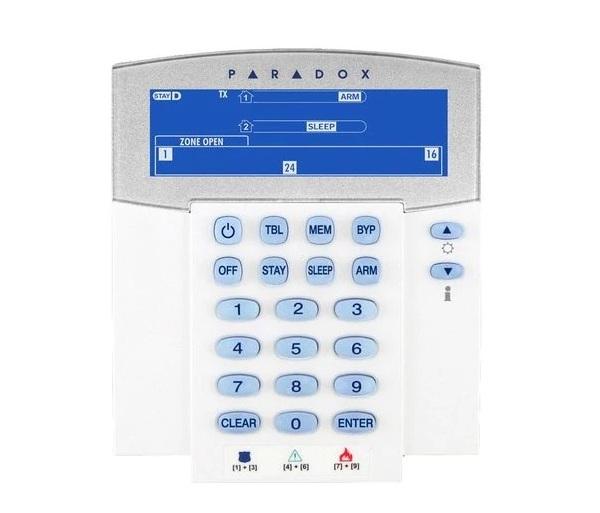 Bàn phím LCD không dây PARADOX K37