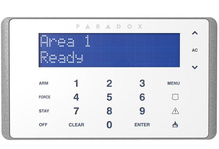 Bàn phím LCD có dây PARADOX K656