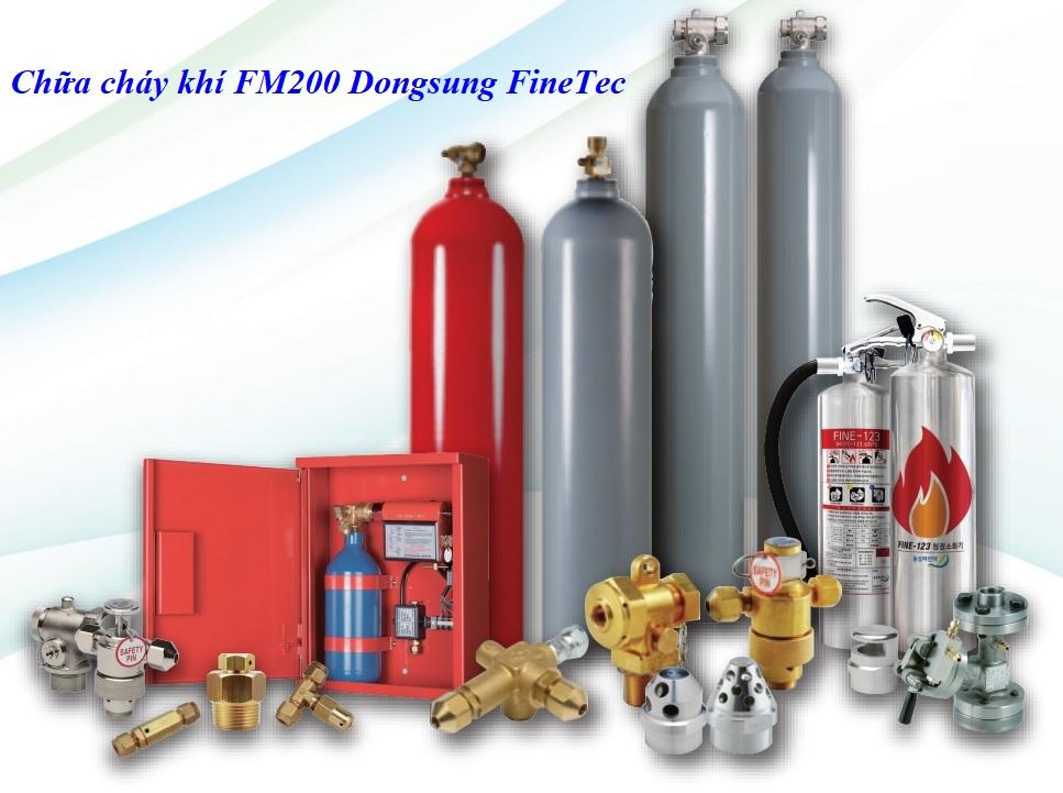 Bình chữa cháy độc lập khí FM200